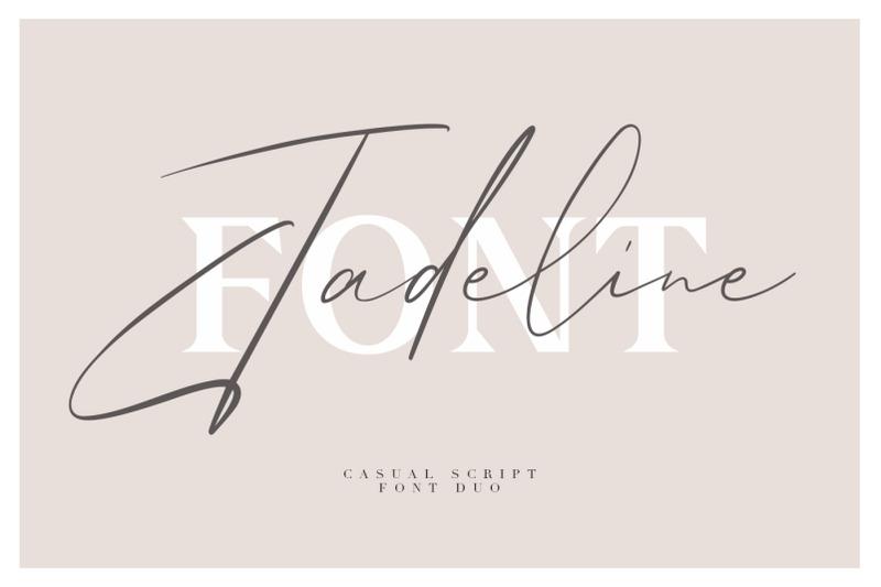 jadeline-script-free-serif-font