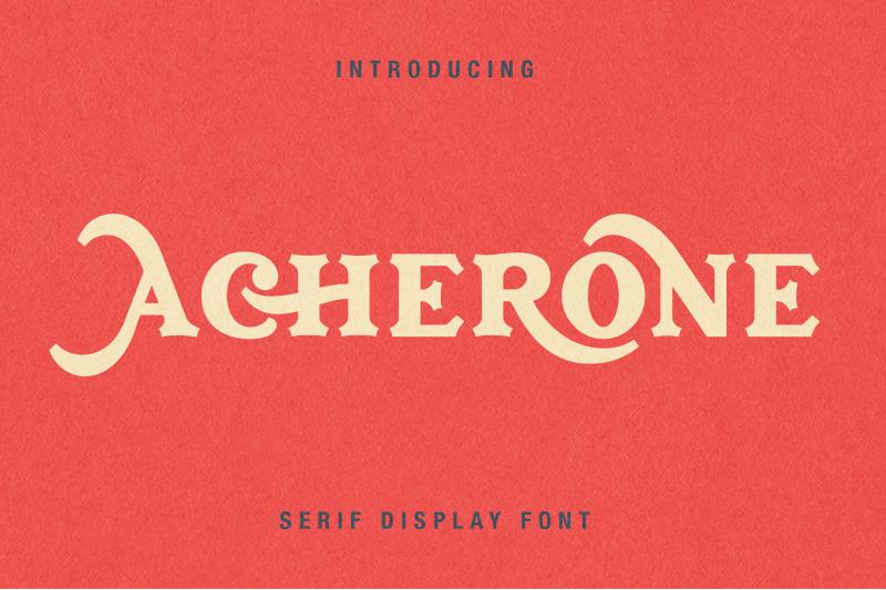 acherone-serif-display-font