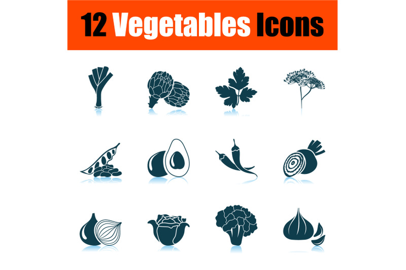 vegetables-icon-set