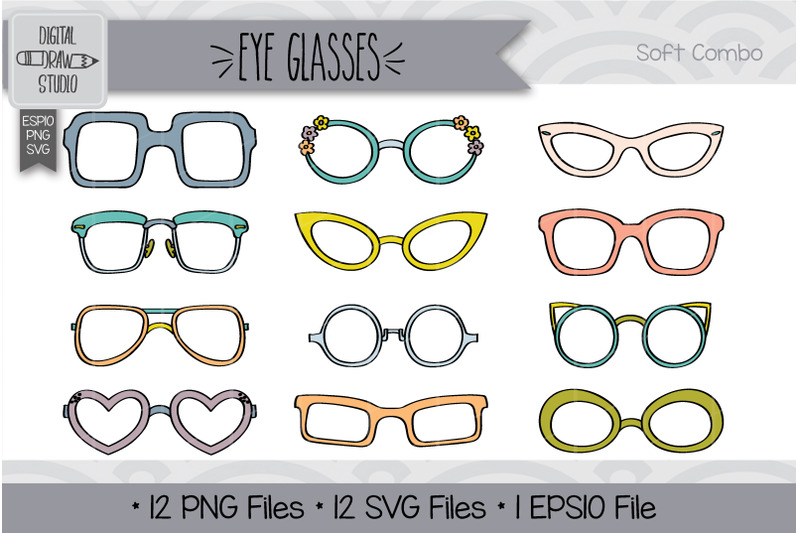 108-eye-glasses-hand-drawn-illustrations-bundle