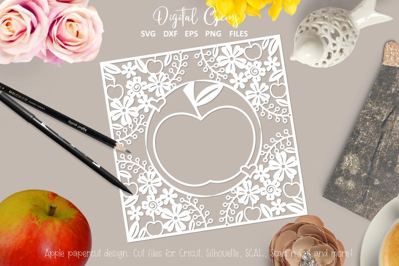 apple-paper-cut-design