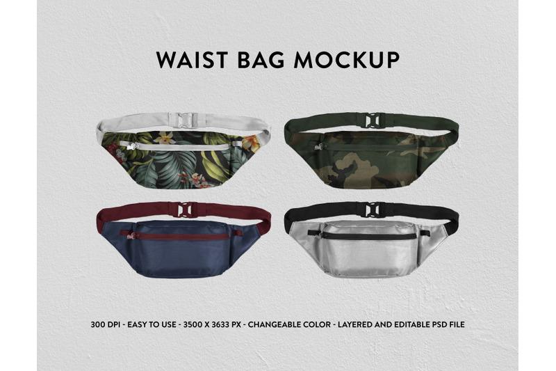 Free Waist Bag Mockup (PSD Mockups)