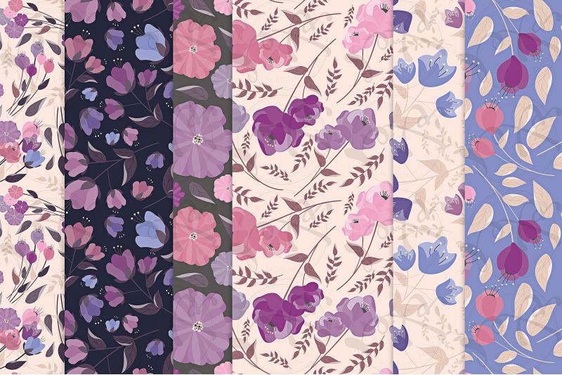flora-25-purple-flower-seamless-patterns-amp-digital-papers
