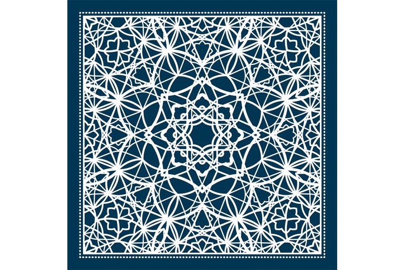blue-scarf-design-with-geometric-pattern