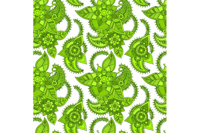 green-color-line-seamless-design