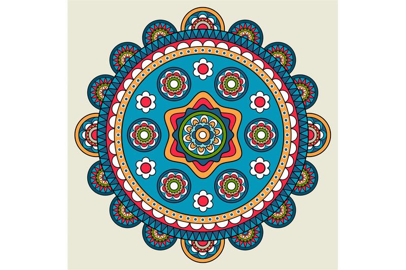 doodle-boho-floral-round-motif