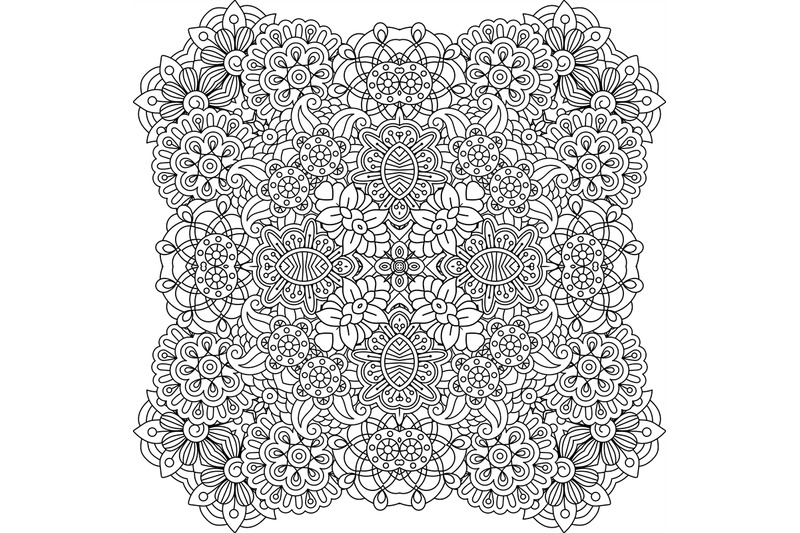 beautiful-colorless-geometric-patterns-on-white