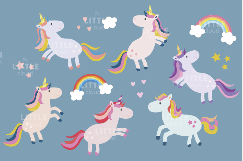 cute-unicorns-clipart
