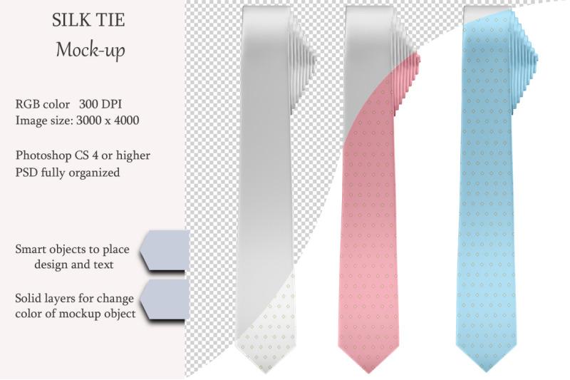 Free Silk tie Mockup. Product mockup. (PSD Mockups)