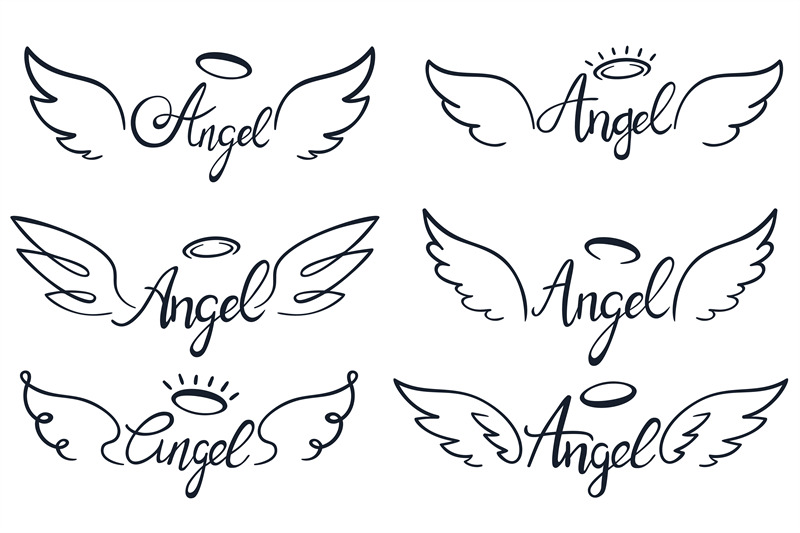 angel-wings-lettering-heaven-wing-heavenly-winged-angels-and-holy-wi