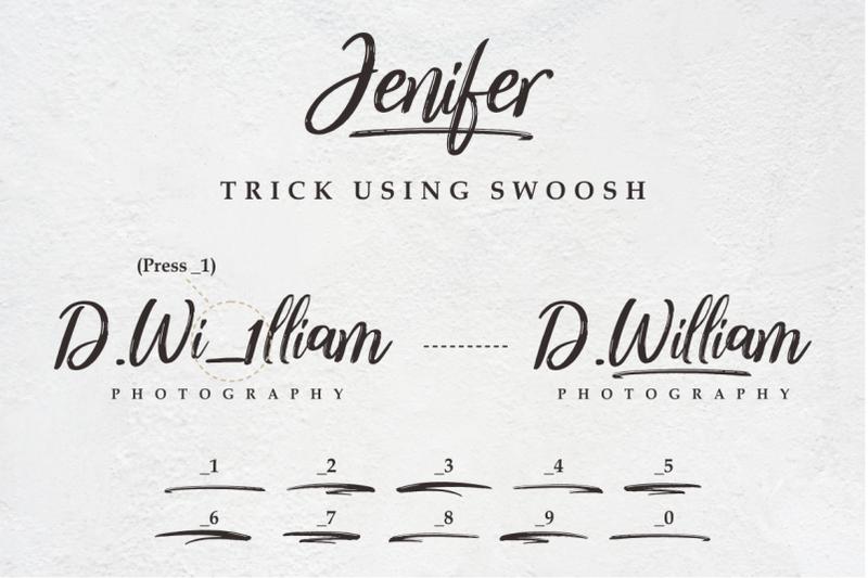 jenifer-a-casual-handwriting-font