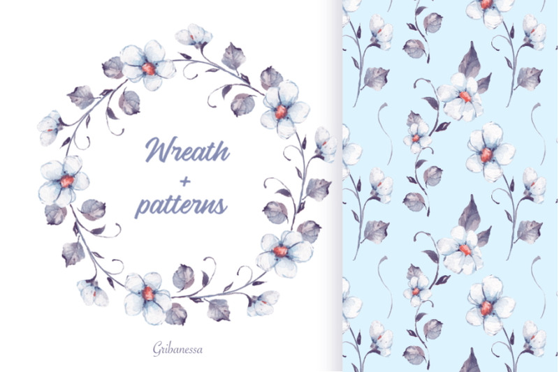 white-flowers-set-2
