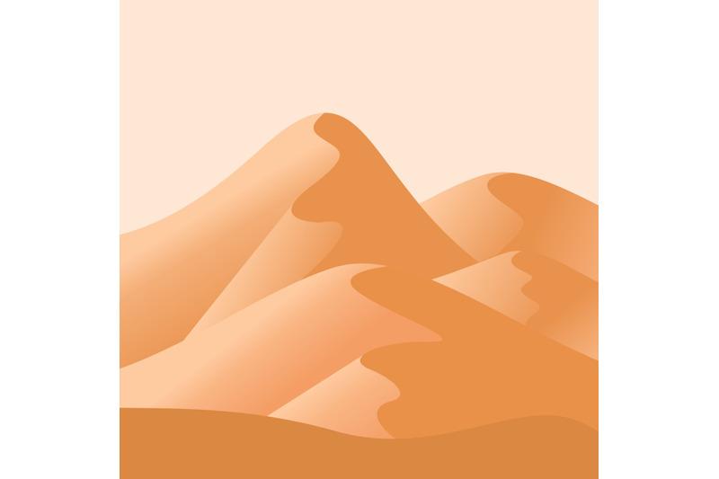 flat-design-form-of-sand-waste
