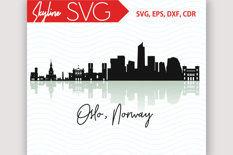 oslo-skyline-norway-city-country-in-europe-vector-svg