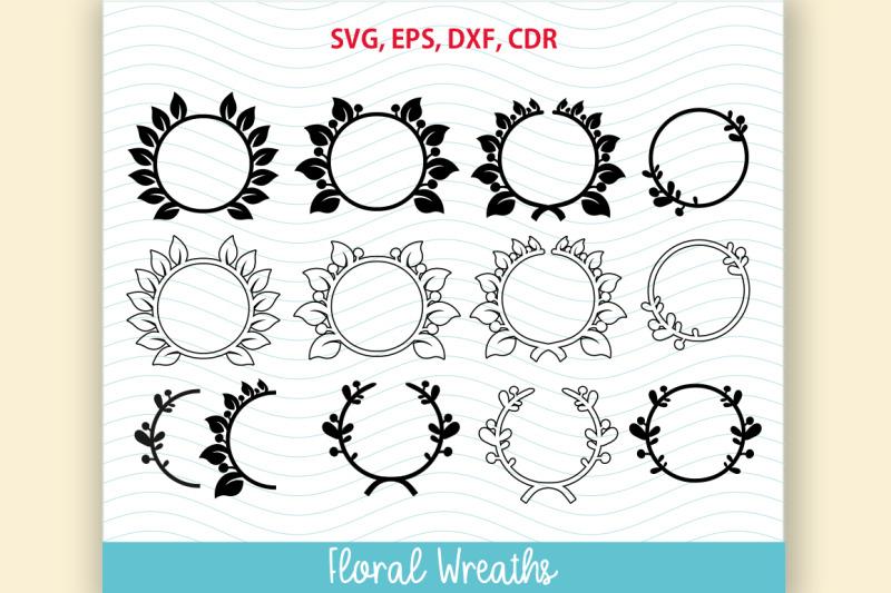 12-flower-frame-svg-floral-wreath-set