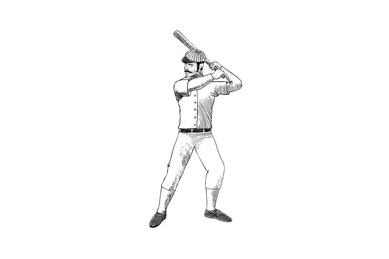 vintage-baseball-player