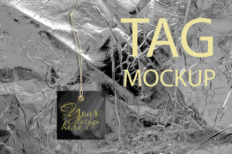 Free Tag Mockup, Styled Stock Photography, Clothing Tag, Thank You Tag (PSD Mockups)