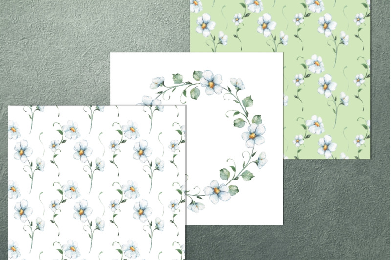 white-flowers-patterns-and-wreath