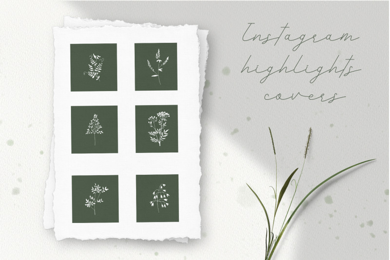 instagram-highlights-covers-set-of-6-covers-with-wild-herbs