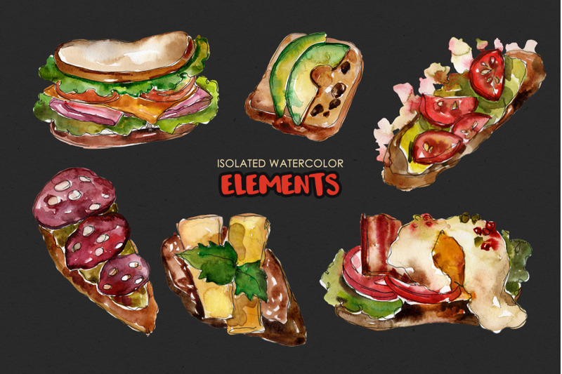 sandwich-croc-monsieur-watercolor-png