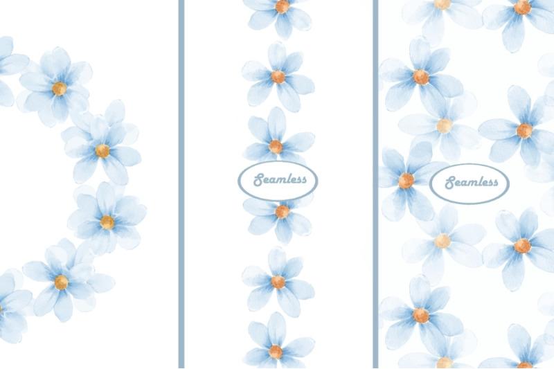 delicate-floral-set-chamomiles