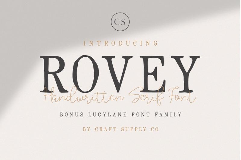 rovey-handwritten-serif-font-bonus