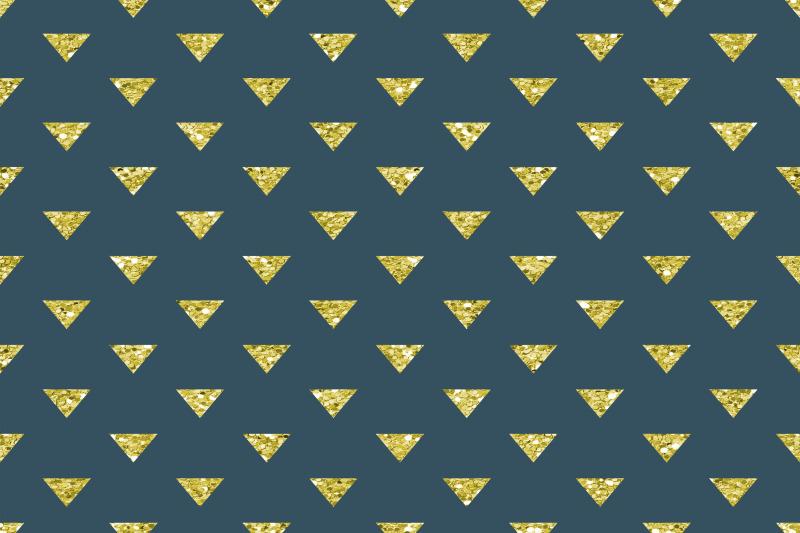 glitter-geometric-digital-paper