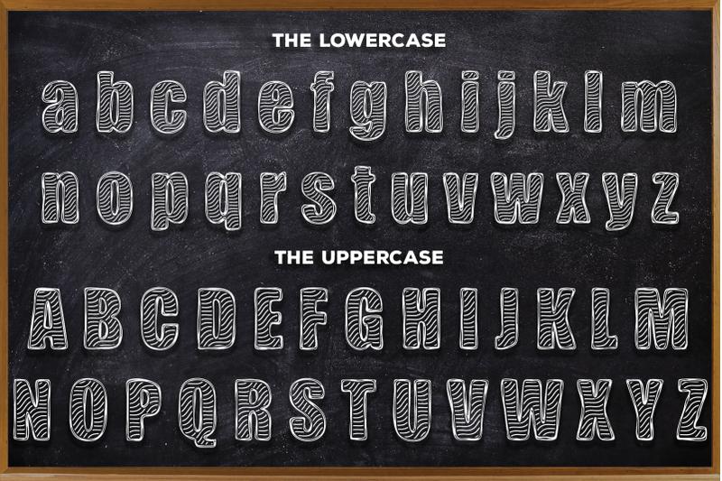 zebra-bboard-decorative-font