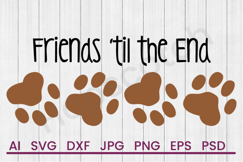 friends-til-end-svg-file-dxf-file