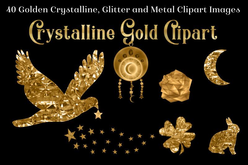 crystalline-gold-clipart-set-40-golden-images