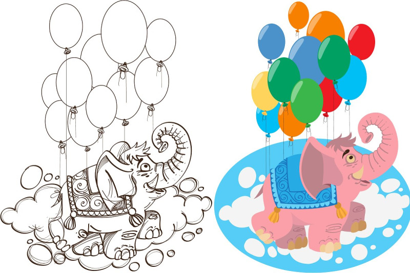 elephant-with-balloons