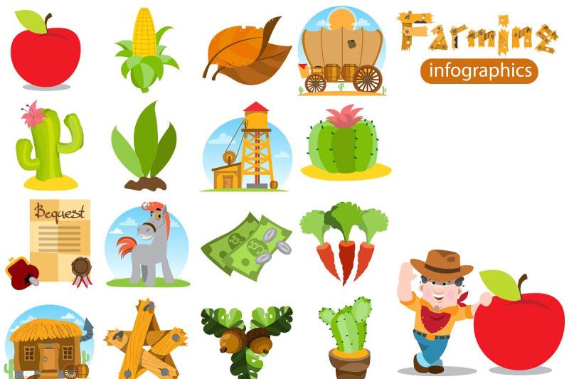 farming-infographics-great-set