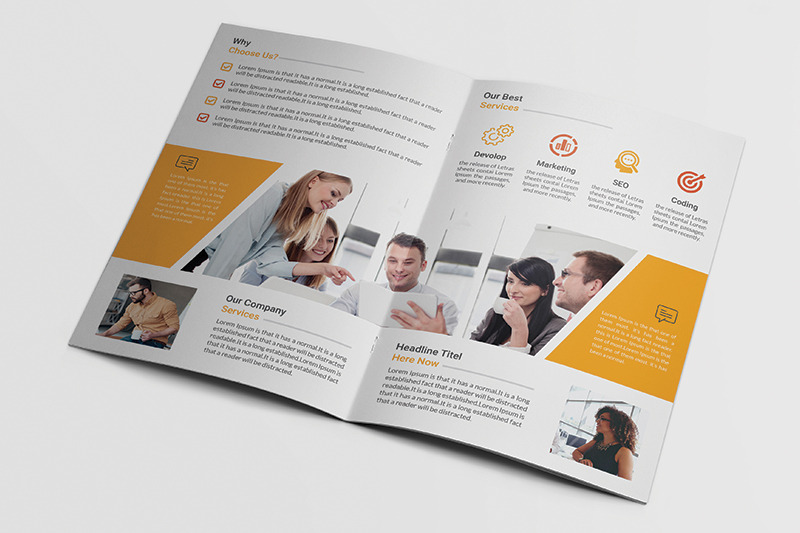 bi-fold-brochure-template