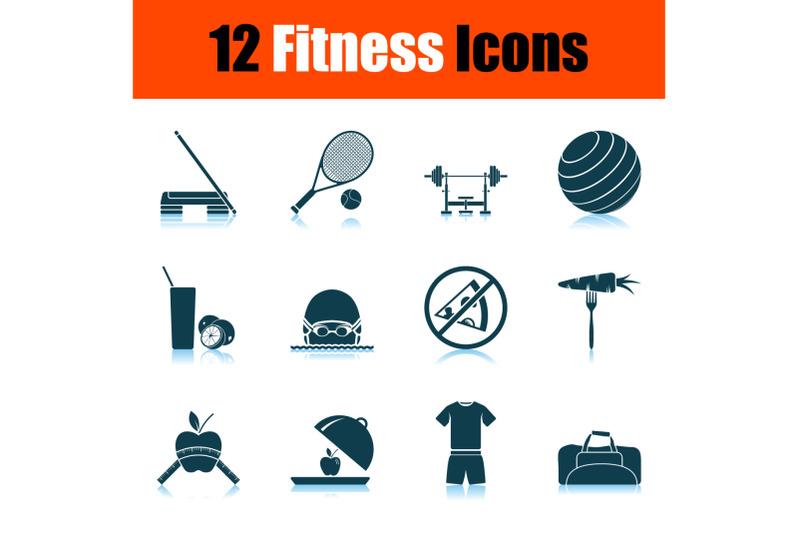 fitness-icon-set