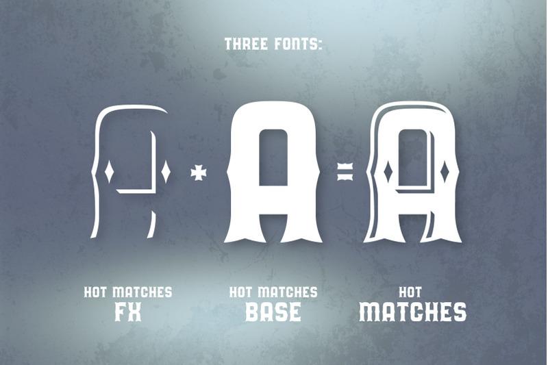 hot-matches-font-mockup-template