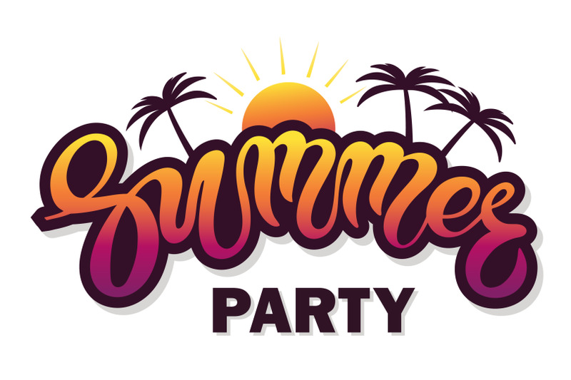 summer-party-hand-drawn-lettering