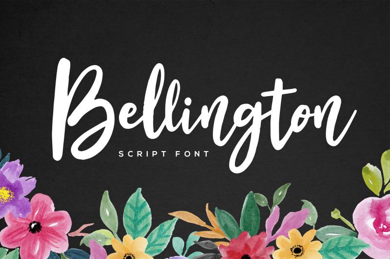 bellington-script-font-bonus