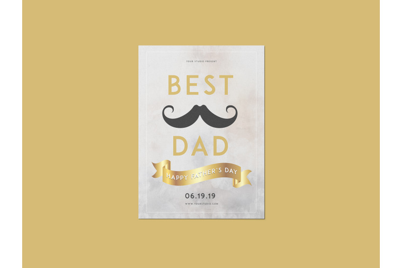 best-dad-father-039-s-day-flyer-template