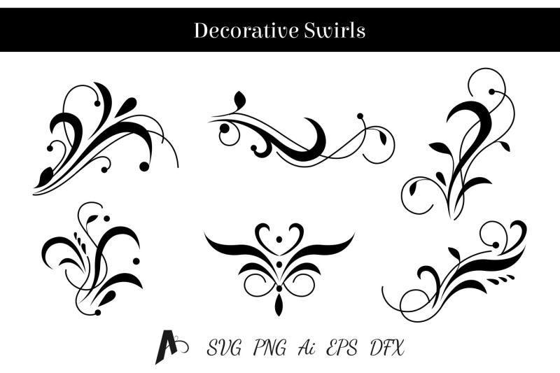 decorative-swirls-design-floral-vector-elements