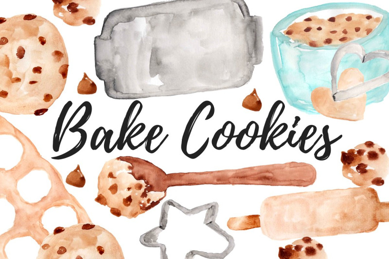 watercolor-cooking-baking-clipart
