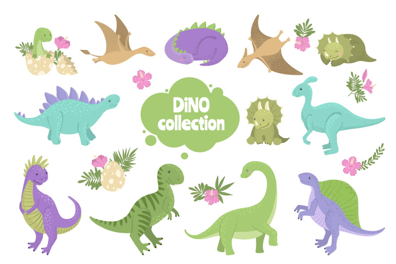 vector-dinosaurs-collection
