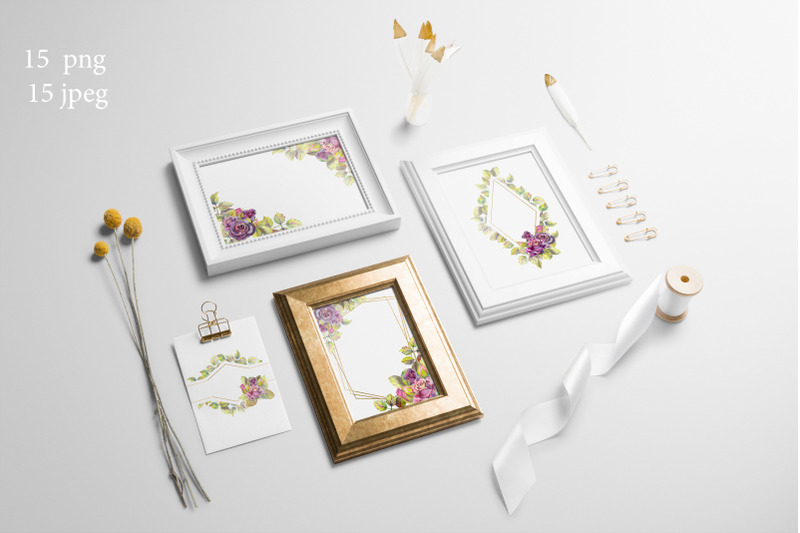 dark-roses-watercolor-15-flower-of-frames