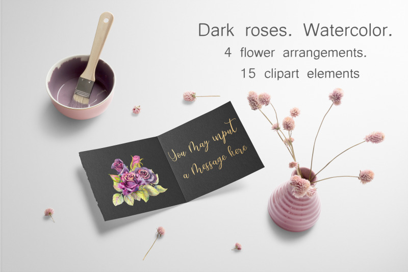 dark-roses-watercolor-15-watercolor-cliparts-4-compositions