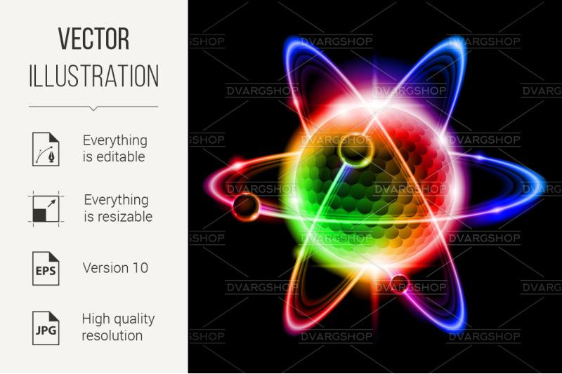 green-atom-electron