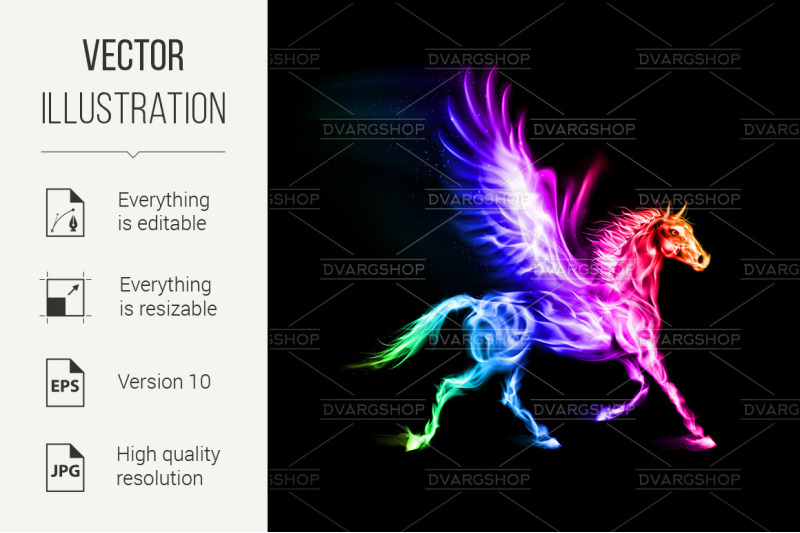 colorful-fire-pegasus