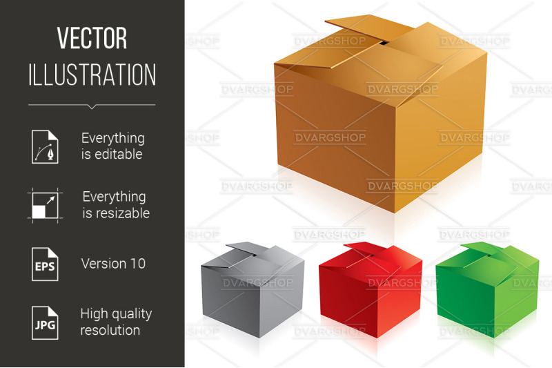 closed-color-cardboard-boxes