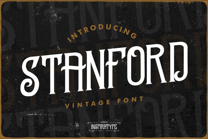stanford-vintage-font