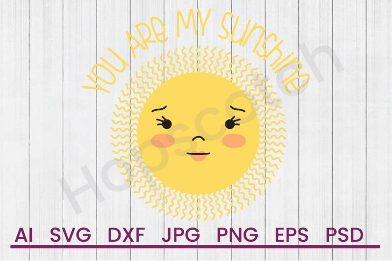 my-sunshine-svg-file-dxf-file