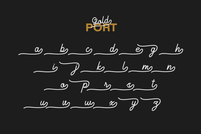 gold-port-font-duo-with-sans