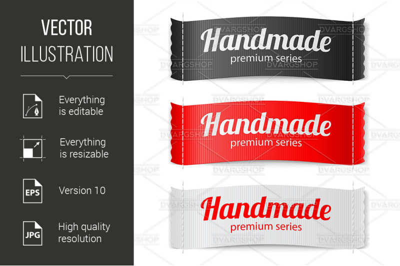 labels-handmade-series